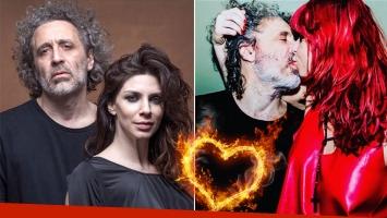 ¡Cuánta pasión! Romina Gaetani y la foto un beso súper hot con su novio rockero: Lo que fue será barrido…...