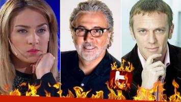 Fuerte pelea de María Julia Oliván con Claudio Villaruel… ¡y picantísima intervención de Federico D'Elía!