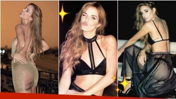 Julieta Nair Calvo posó muy sexy para la revista Gente.