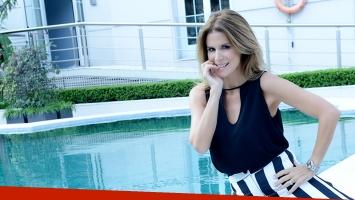 Flavia Palmiero en una entrevista exclusiva con Ciudad (Fotos: Musepic).