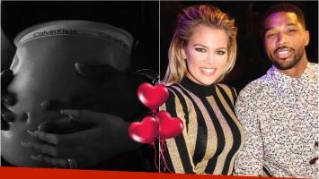 Khloé Kardashian anunció con bombos y platillos su embarazo: Mi mayor sueño se cumplió
