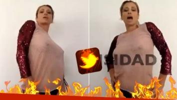 ¡Diosa a los 49! Érica García presentó su nuevo tema con un sensual video en topless: Para que canten y bailen