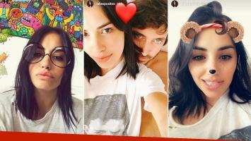 ¡Diosa enamorada! Lali Espósito, genuino amor de entrecasa con Santiago Mocorrea