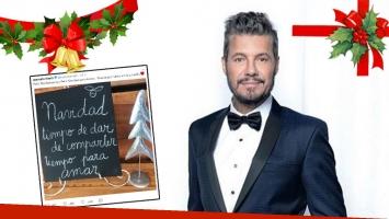 El mensaje navideño de Marcelo Tinelli: Tiempo de dar, de compartir, tiempo para amar