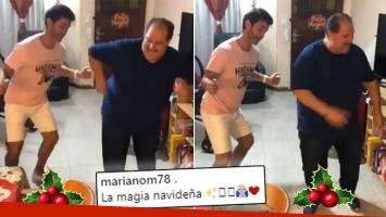 ¡Primera Nochebuena juntos en 10 años! Mariano Martínez, reconciliado con su padre, Ricky: La magia navideña