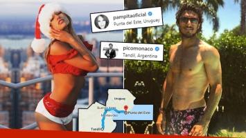¡Cada uno por su lado! La Navidad a distancia de Pampita y Pico Mónaco: separados por 700 kilómetros y una fuerte...