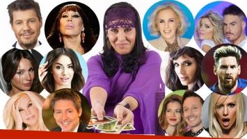 Las sorprendentes (¡y polémicas!) predicciones de Pity, la numeróloga sobre los famosos para 2018: embarazos,...