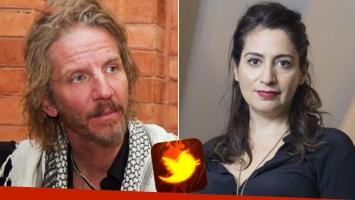 Furioso cruce twitter entre Facundo Arana y Muriel Santa Ana: la frase del actor que despertó la ira de la actriz