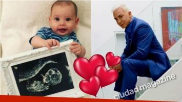Flavio Mendoza publicó la primera foto de su hijo… ¡con una tierna imagen de su sobrino!: Noah les presenta a su...