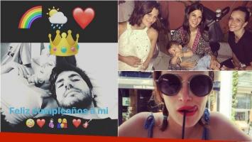 El cumpleaños súper especial de Mónica Antonópulos, en la dulce espera de su segundo hijo y el saludo de Marco...