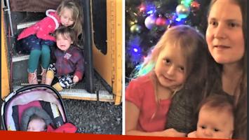 Un milagro navideño involucró a una familia de EEUU