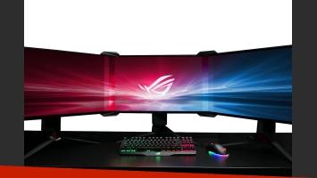 Asus puede fusionar tres monitores en uno