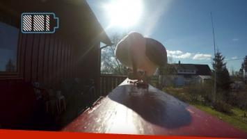 Gaviota robó una GoPro y registró imágenes espectaculares