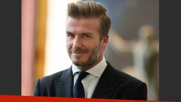 David Beckham prepara su línea de cosméticos masculinos