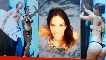 María Susini, súper sexy en bikini en las playas de Mar del Plata