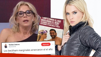 Yanina Latorre tildó de Beckhams marginales a Maglietti y Jonás Gutiérrez… y la modelo la cruzó con todo: Lo...