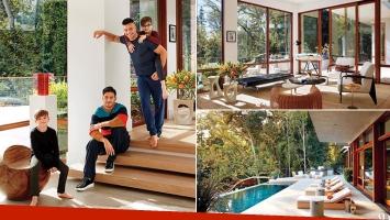 Ricky Martin abrió las puertas de su mansión de Los Ángeles junto a su marido, Jwan Yosef: Esta es nuestra casa