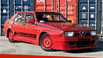 Subastan un Alfa Romeo 75 en Estados Unidos