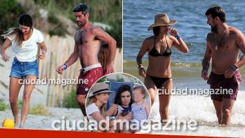 ¡Vacaciones en familia y amistad! Los días de Kloosterboer y Cherri con sus parejas e hijos en las playas de Punta