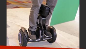 El robot Segway Loomo fue el boom en el CES 2018