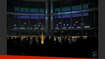 Space Invaders revolucionó Tokio en su 40 aniversario