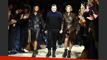 Louis Vuitton unió a Kate Moss y Naomi Campbell