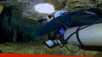 Descubrieron en México la caverna inundada más larga del mundo