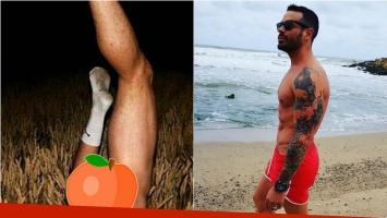 Mariano Caprarola compartió una osada foto de su cola… ¡y en medias!: A los que no les gusta, no miren y a los que...