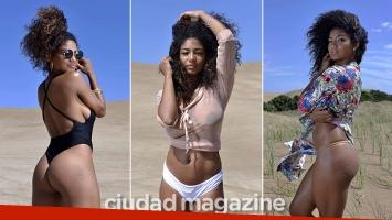 Las fotos sexies de Kate Rodríguez, una diosa al natural: curvas y transparencias sin retoques ni Photoshop