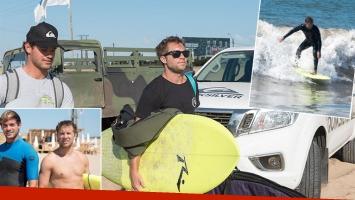 Nico Riera, una estrella... ¡sobre las olas!. Fotos: Gentileza prensa / Beto Oviedo