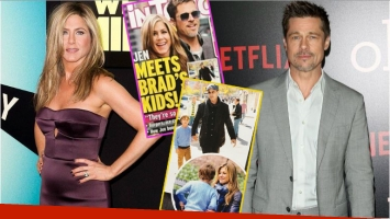 Conocé la verdad detrás de la falsa tapa de Jennifer Aniston conociendo a los hijos de Brad Pitt de la que habla el...