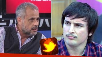 Picante tweet de Martín Amestoy contra Rial: Jorge estás hecho un bol… ¡aflojá hermano!