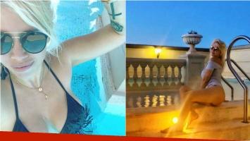 Wanda Nara y sus fotos hot veraniegas en nuestro país: Summer en Argentina