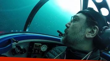 Javier Bardem se sumergió en aguas de la Antártida en una misión de Greenpeace