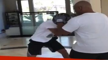 Mirá cómo pelea el hijo de Mike Tyson