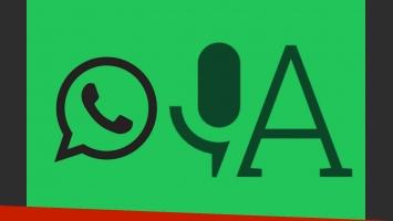 Mirá estas dos app que convierten los audios de WhatsApp a texto