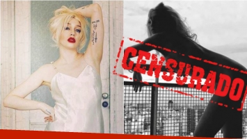 El desnudo de Militta Bora que Instagran censuró y el enojo de la rockera