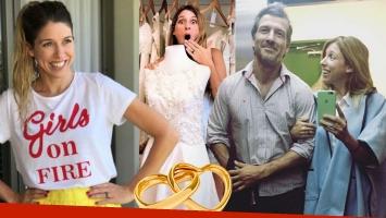 Florencia Bertotti habló de un rumor de boda tras sus posteos con un vestido de novia.