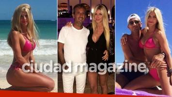 Las fotos de las vacaciones del escribano de ShowMatch con su sensual y joven novia en Punta Cana.