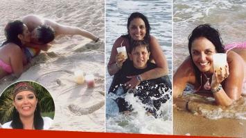 ¡Como nunca la viste! Las vacaciones de Jimena La Torre en las playas de Brasil: Esto es disfrutar