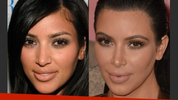 Los cambios de Kim Kardashian con el paso del tiempo
