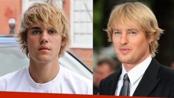 ¿Es Owen Wilson? No, es solo Justin Bieber