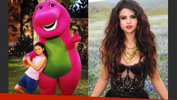 Selena Gomez sentía atracción por Barney cuando era una nena