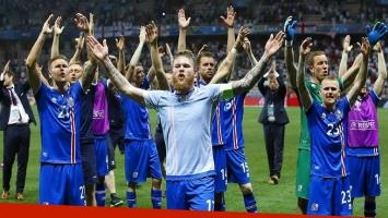 Mundial de Rusia 2018: mirá la curiosa celebración de Islandia