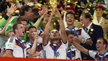 Mundial de Rusia 2018: mirá la exorbitante cifra que ganarán los campeones