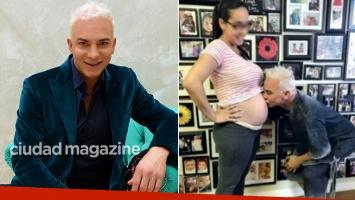 Flavio Mendoza habló de su relación con la madre subrogante de su hijo. (Foto: archivo Ciudad y revista Gente)