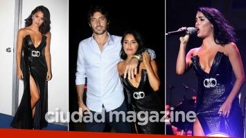 Lali Espósito, sexy y enamorada en su show en el festival Únicos. (Foto: Movilpress)