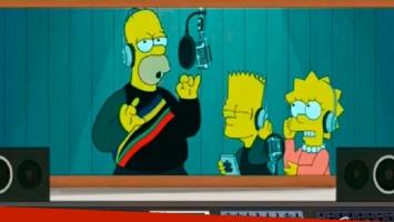 Los Simpsons también disfrutan del #DuraChallenge de Daddy Yankee