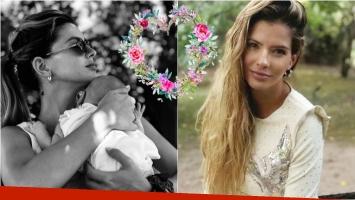 El tierno mensaje de la China Suárez: Feliz mes, mi Magnolia