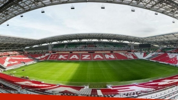 Rusia 2018: el Kazán Arena recibirá a 45.000 hinchas por cada partido